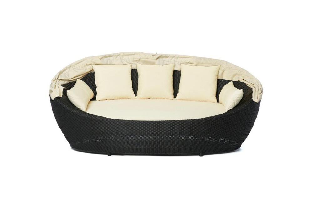 dreamland rattan sunbed garden furniture beautiful. Black Bedroom Furniture Sets. Home Design Ideas