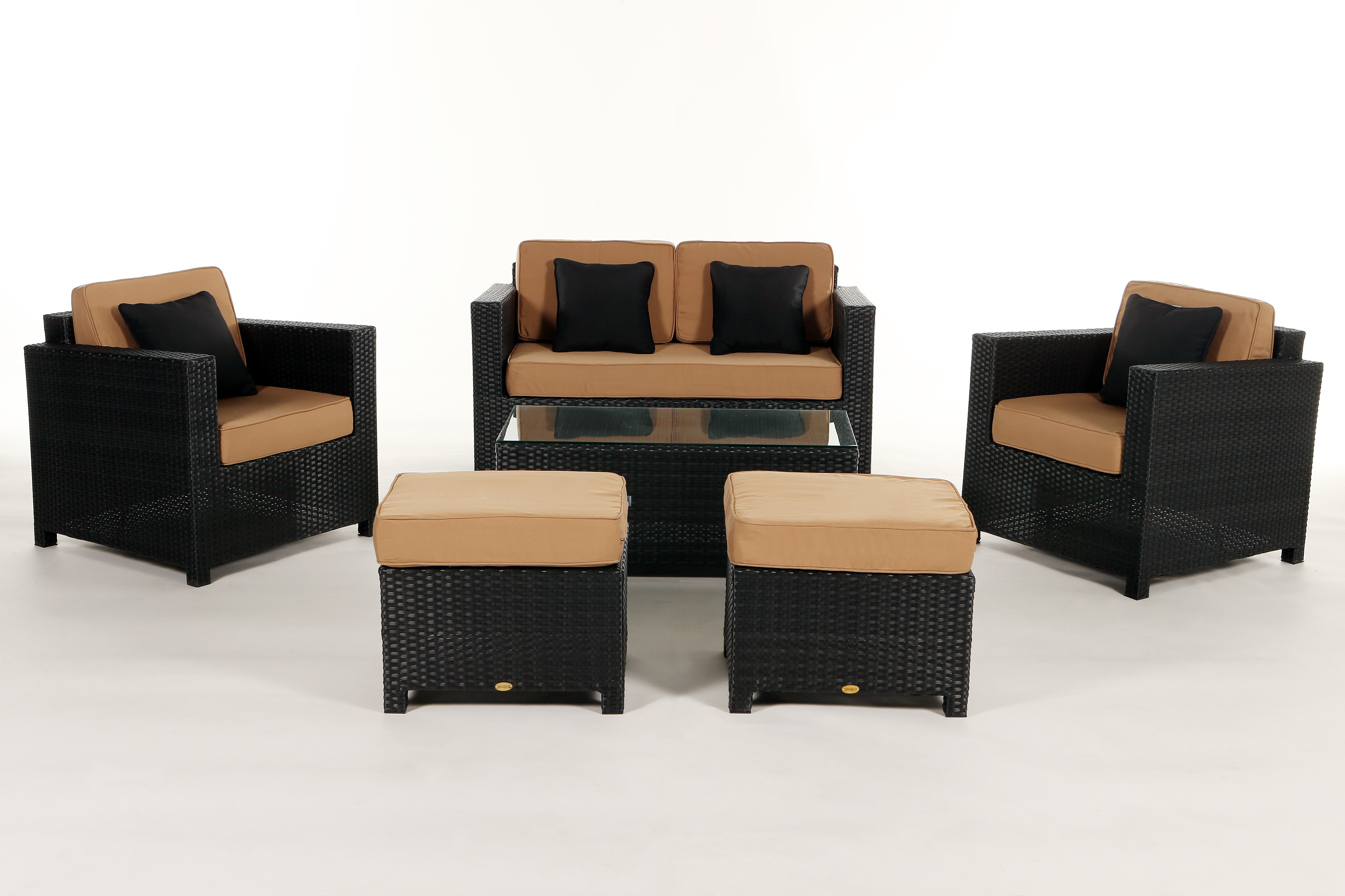 ... Luxury Deluxe Lounge, Caramel Cushion Cover Set ...