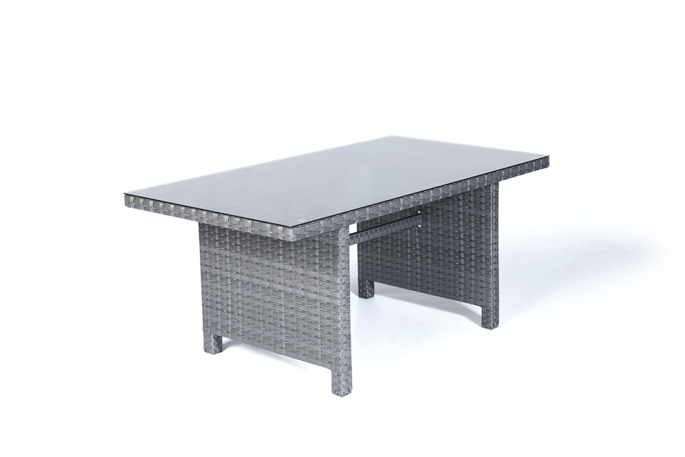 Garden Furniture Manchester Manchester rattan garden furniture dining lounge in mixed grey manchester rattan garden furniture dining table in mixed grey workwithnaturefo