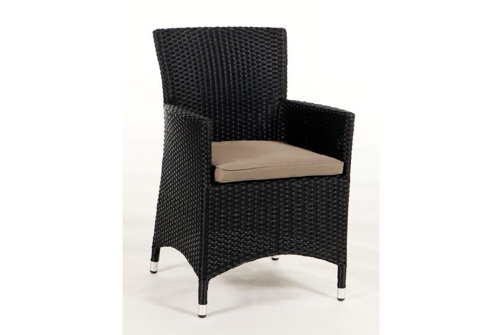 Nairobi Rattan Chair - Black - Rattan Garden Furniture - Seat ...