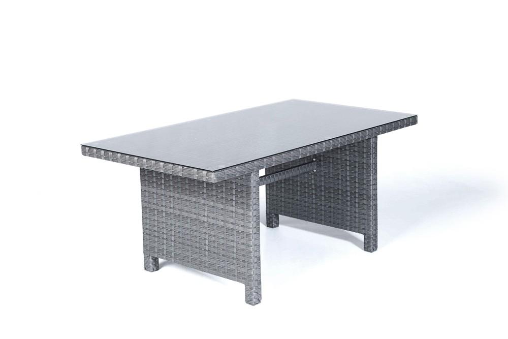 Rattan Lounge Grau Günstig ~ Paddington Rattan Garden Furniture Dining Lounge Dining Table in Mixed