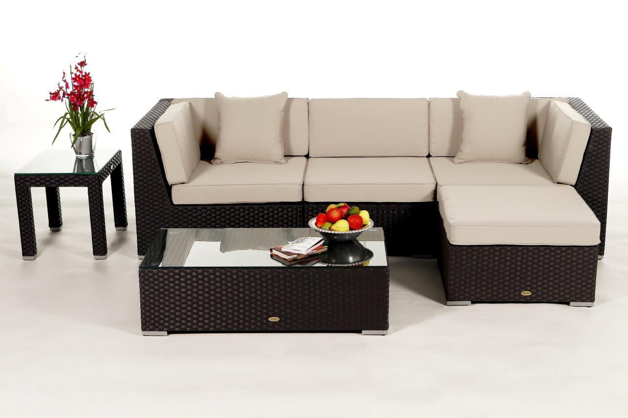 Albani Gardine Beige Braun : ... lounge - rattan garden furniture for ...