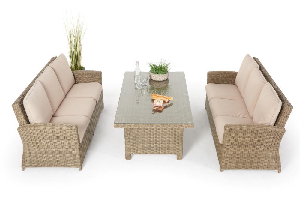 Rattan Lounge Mit Esstisch. Stunning Rattan Lounge Mit