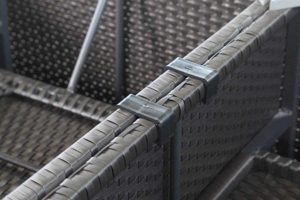 bermuda rattan lounge connecting clips (10 pcs), Garten und Bauen
