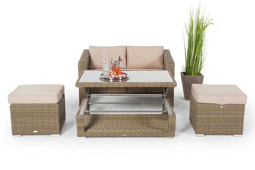 top 25+ best polyrattan lounge set ideas on pinterest elegant, Gartenmöbel