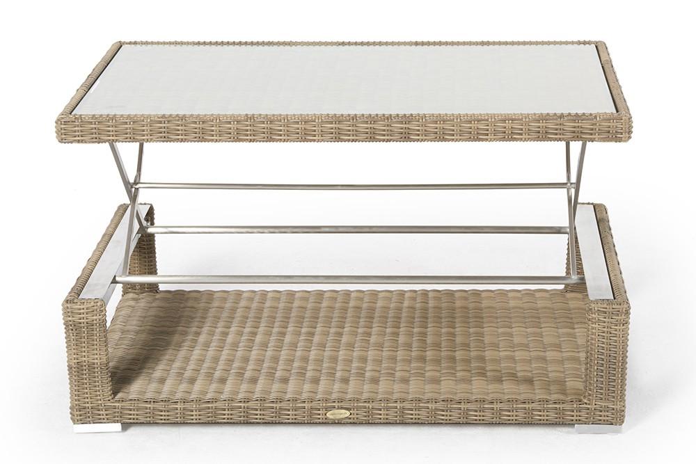 garden furniture - lia - outdoor - natural - lounge - table