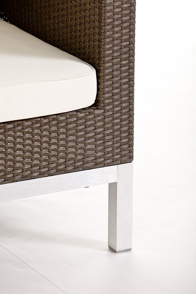 Opera Rattan Lounge, Grey Brown - rattan garden furniture ...