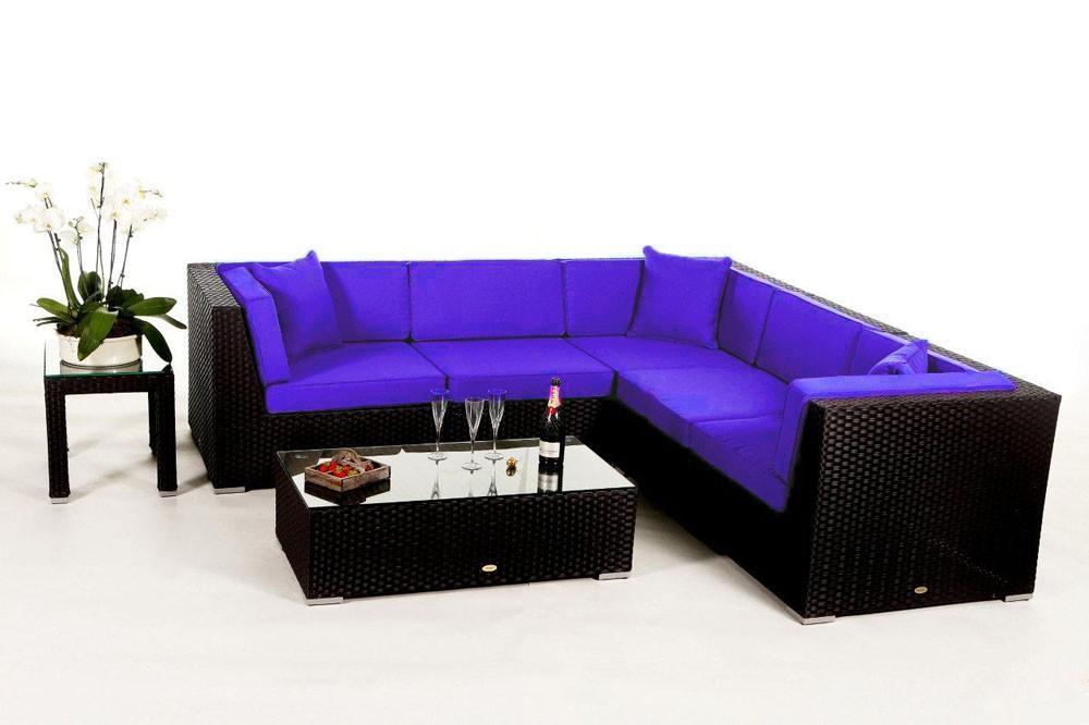 shangrila rattan lounge - rattan garden furniture - cushion covers, Garten und Bauen