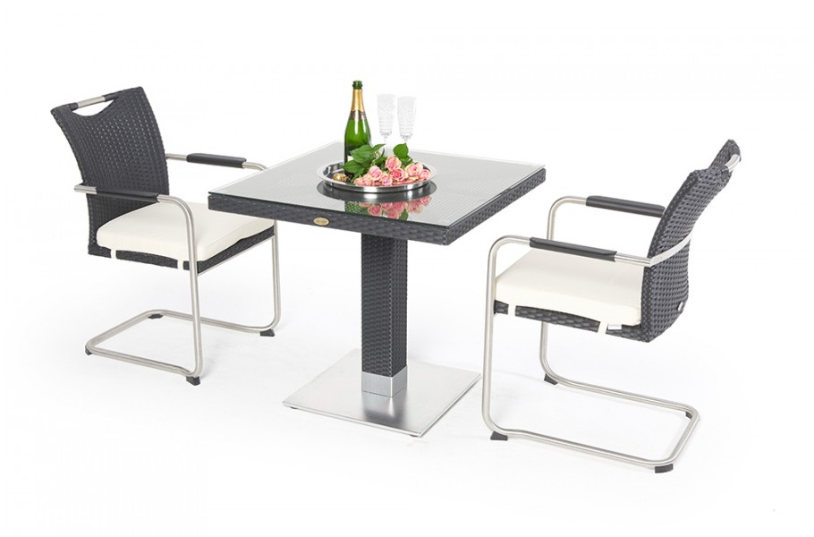 Balkontisch Stühle.Balcony Table 80 And 2 Chair Manfred Dining