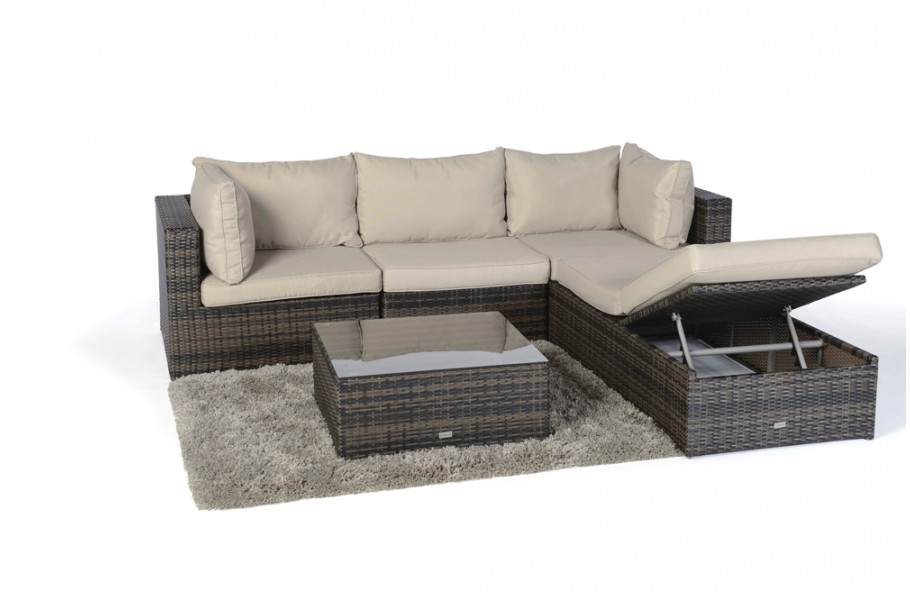 kuala rattan lounge brown rattan garden furniture for. Black Bedroom Furniture Sets. Home Design Ideas