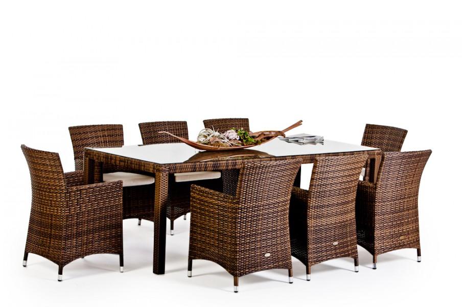 Rattan Gartenmobel Tisch Und Stuhl Nairobi Dining 220