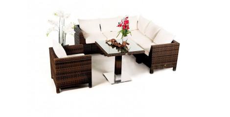 rattan gartenmöbel - rattan lounge - rattanmöbel, Garten Ideen